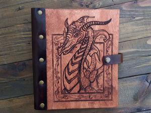 "Блокнот ""Дракон"". Ярмарка Мастеров - ручная работа, handmade."