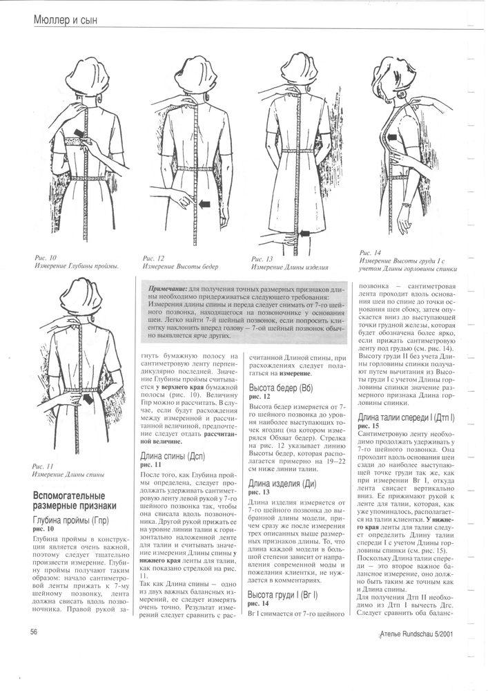 измерение фигуры, пошив на заказ