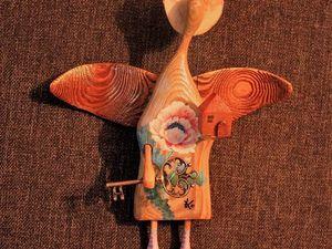Ангелочки в ладошку с ключиком и домиком, часть 2. Ярмарка Мастеров - ручная работа, handmade.