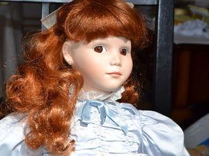 Коллекционная фарфоровая кукла Adell от Jan Hagara!   Ярмарка Мастеров - ручная работа, handmade