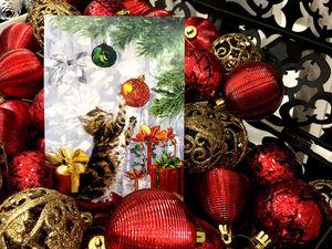 Дарю набор новогодних открыток!. Ярмарка Мастеров - ручная работа, handmade.