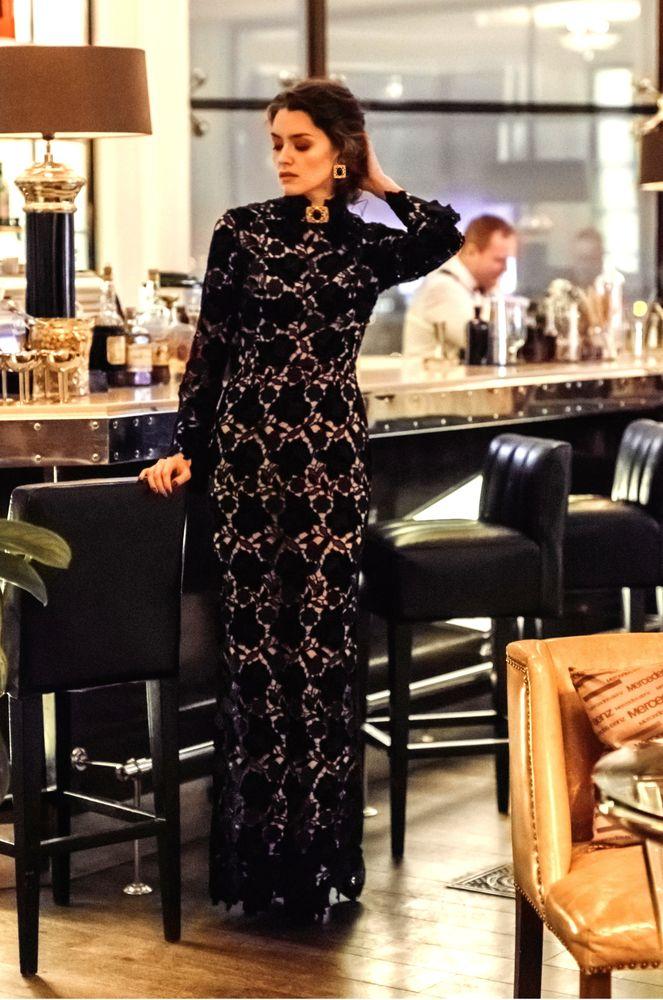 фотосессия, винтажная брошь, мода, мода 2019, вечернее украшение