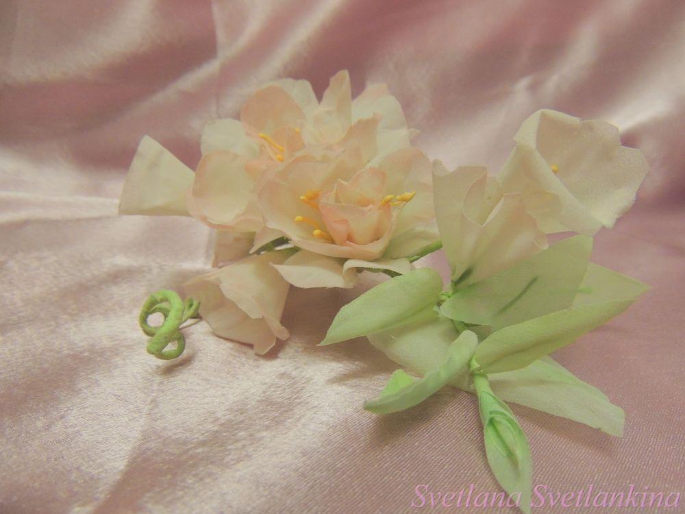 цветы и ткани