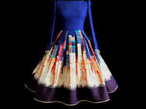 Фотоссесия платья Ночной Нью-Йорк. Ярмарка Мастеров - ручная работа, handmade.