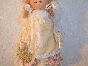 Рождественская поющая девочка Мишель. Ярмарка Мастеров - ручная работа, handmade.
