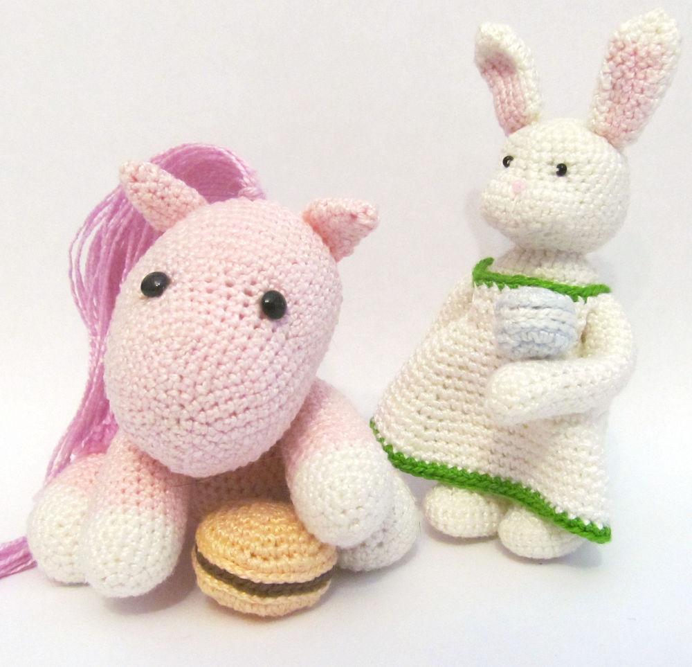 вязаная пони, игрушка пони