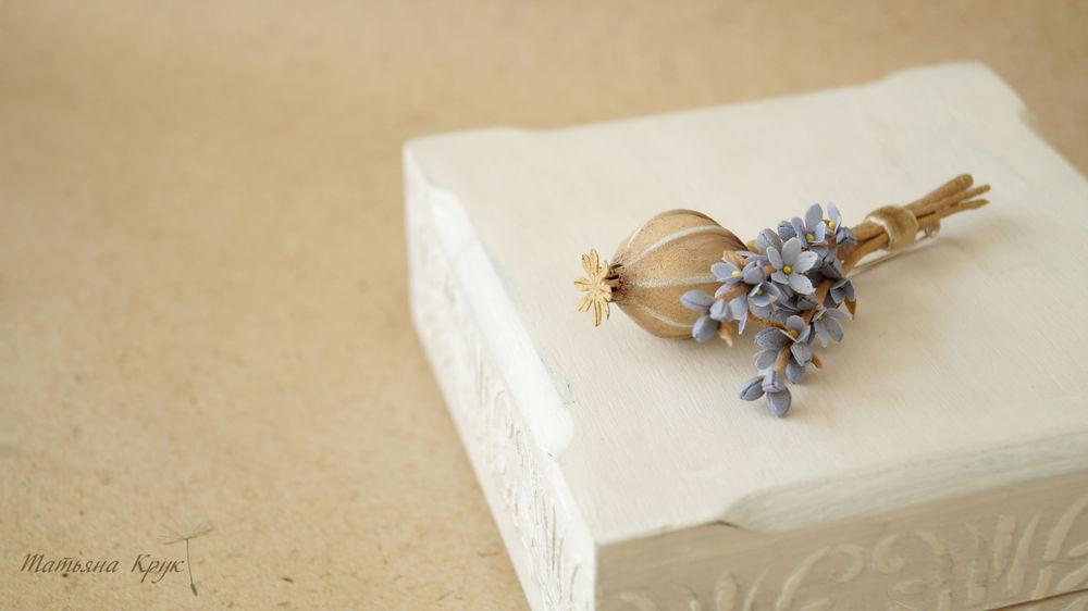 украшение ручной работы, брошь с цветами, вдохновение, валяная брошь
