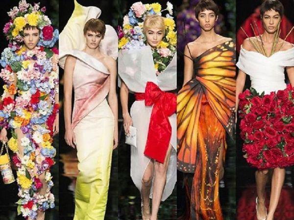 Цветочки, бабочки и рок: новая коллекция Moschino 2018 | Ярмарка Мастеров - ручная работа, handmade