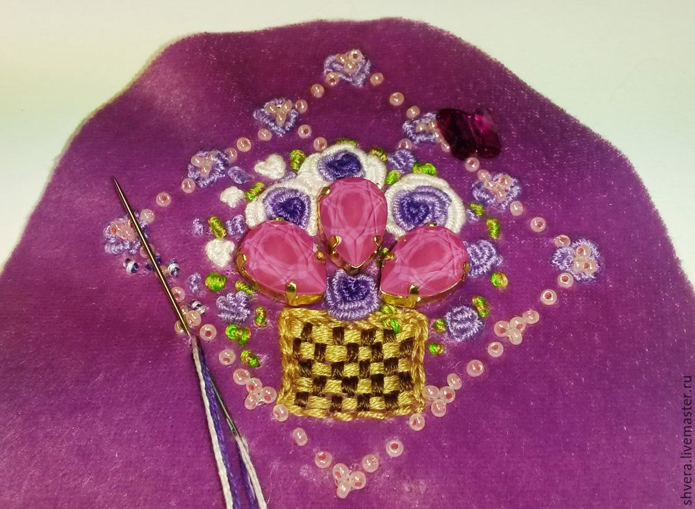 Шьем очаровательный кошелек в винтажном стиле, фото № 17