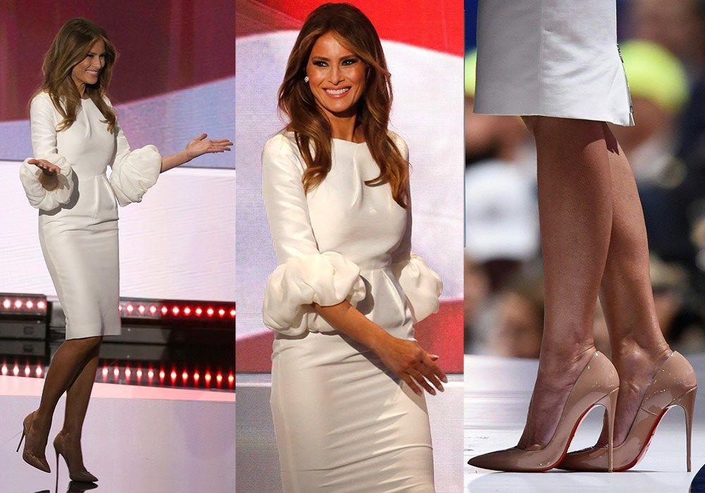 Безупречный стиль первой леди США Мелании Трамп, фото № 16