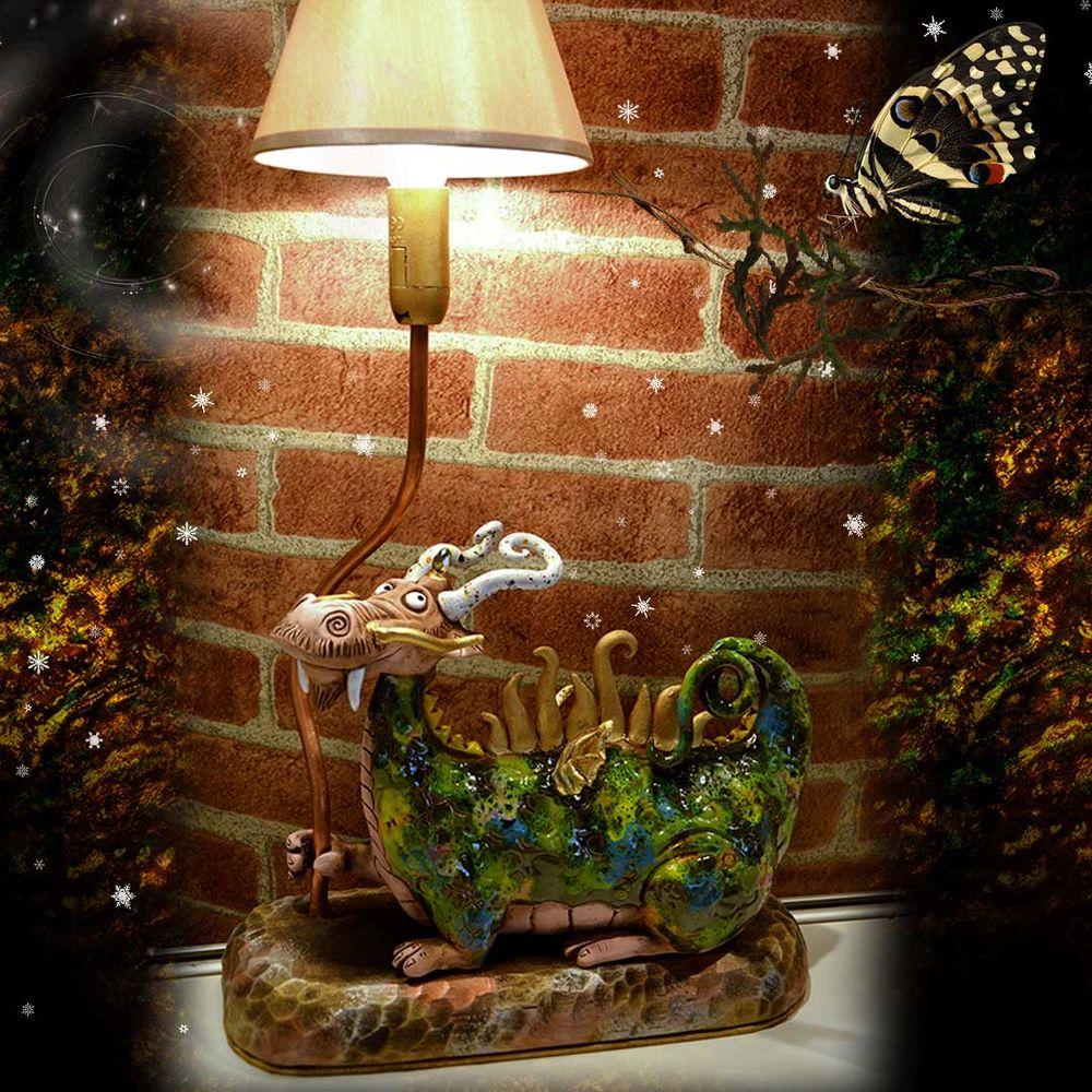 светильник, подарок на новый год