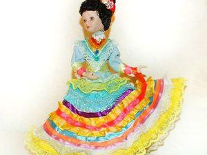 Мексиканка — моя кукла, особенности мексиканского народного костюма. Ярмарка Мастеров - ручная работа, handmade.