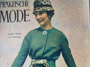 Praktische Mode — старый немецкий журнал мод 12/1960. Ярмарка Мастеров - ручная работа, handmade.