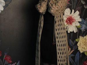 Закрыта! Акция N31 Ищу самую нежную)))Паутинка за 3000 руб из австралийской шерсти- любой размер!. Ярмарка Мастеров - ручная работа, handmade.