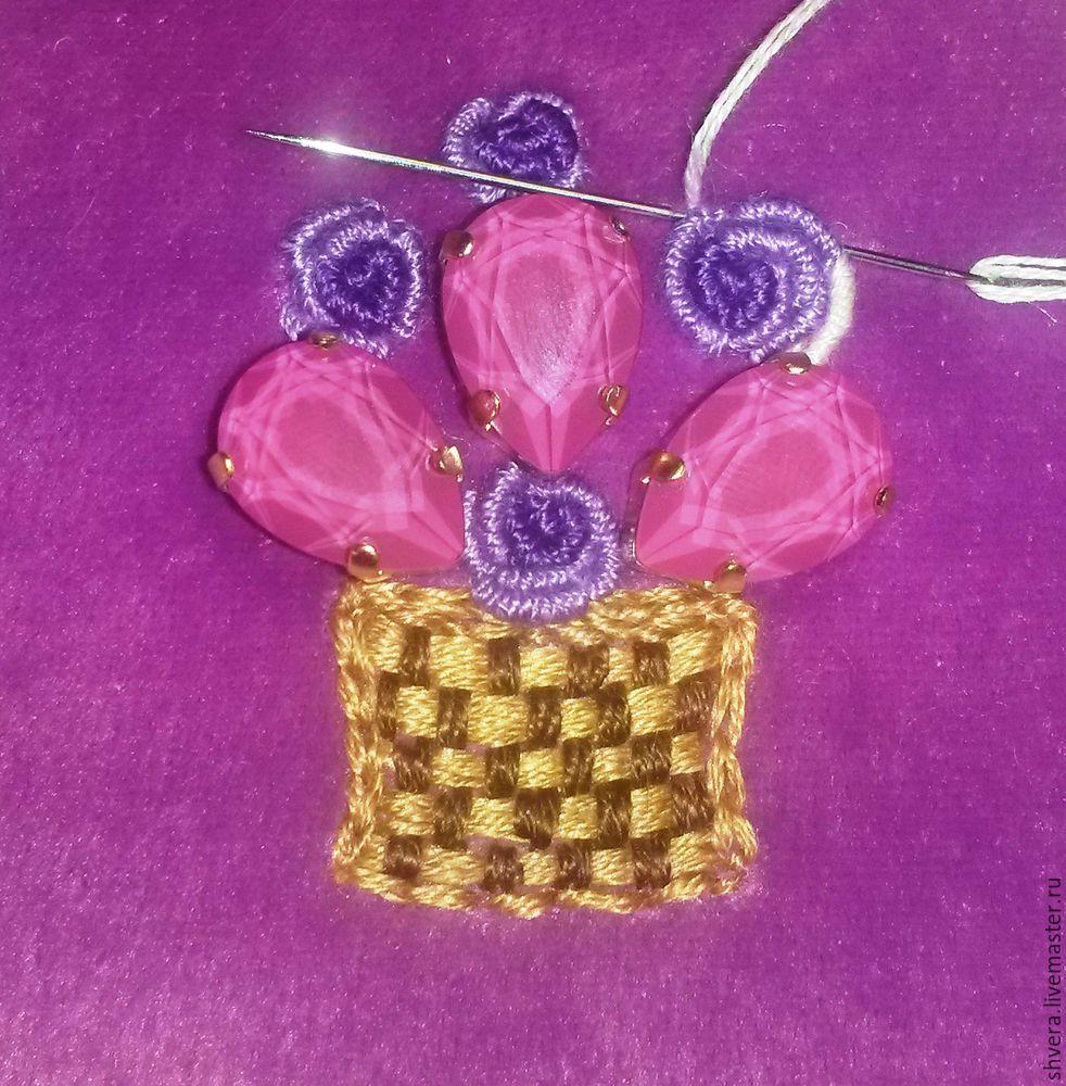 Шьем очаровательный кошелек в винтажном стиле, фото № 12