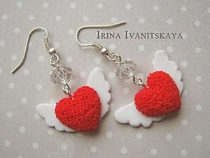 How to Model DIY Heart Earrings. Livemaster - handmade