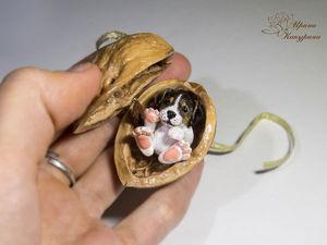Щеночки в орешках!. Ярмарка Мастеров - ручная работа, handmade.