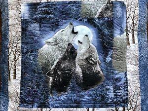 Шьем лоскутную подушку «Волки». Часть 2. Ярмарка Мастеров - ручная работа, handmade.