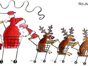 Дед Мороз тоже ждет Черную Пятницу))) | Ярмарка Мастеров - ручная работа, handmade