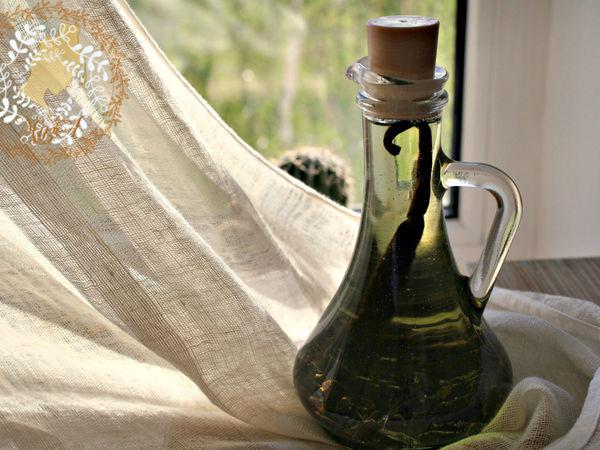Делаем своими руками настоящее ванильное масло   Ярмарка Мастеров - ручная работа, handmade