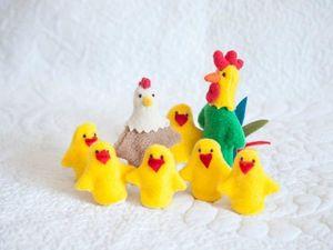 Шьем пальчиковую игрушку «Цыпленок». Ярмарка Мастеров - ручная работа, handmade.