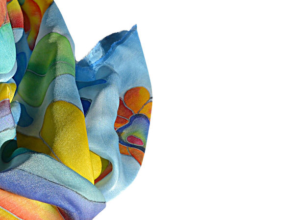 Акция! Новинка! Шелковый шарф