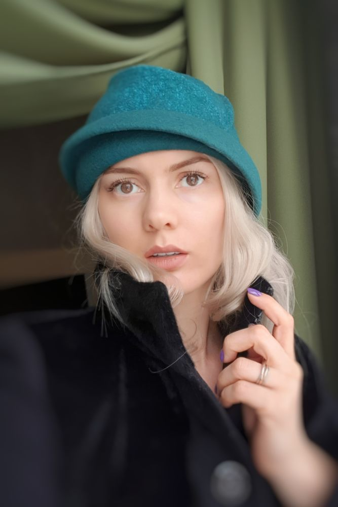 зеленая шляпка, новинка