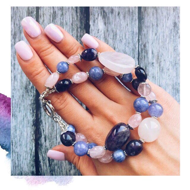натуральные камни, браслет, настоящие камни, камни талисманы, красивые украшения