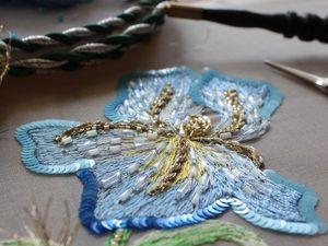 Новый видеокурс по вышивке люневильским крючком | Ярмарка Мастеров - ручная работа, handmade