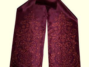 Аукцион на мужской шарф. | Ярмарка Мастеров - ручная работа, handmade