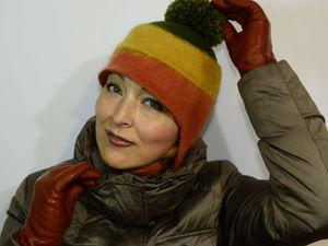Мастер-класс: валяем интересную шапочку. Часть 2. Ярмарка Мастеров - ручная работа, handmade.