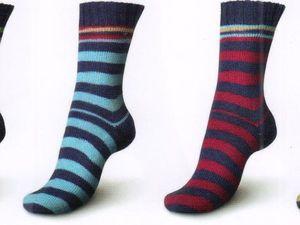 Как связать два одинаковых носка из одного мотка пряжи Regia Pairfect. Ярмарка Мастеров - ручная работа, handmade.