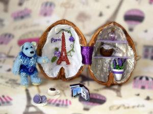 Мишка хочет в Париж: подробности конкурсной работы. Ярмарка Мастеров - ручная работа, handmade.