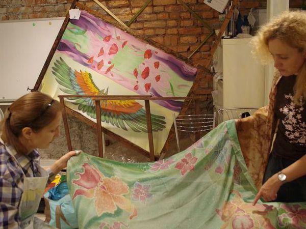 Мастер-класс по Батику ЧЕТВЕРГ 24 ноября 11-00. Холодный батик.   Ярмарка Мастеров - ручная работа, handmade