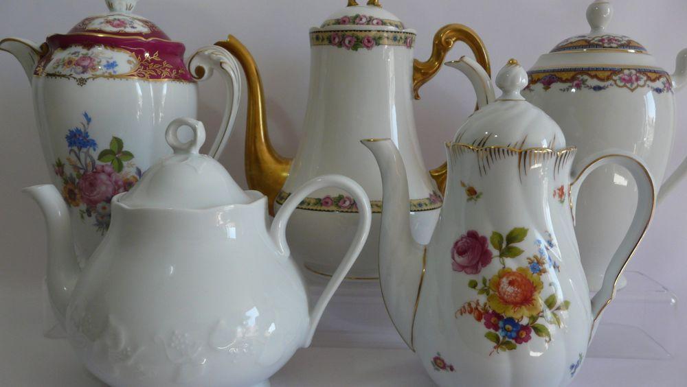 винтажные чайники