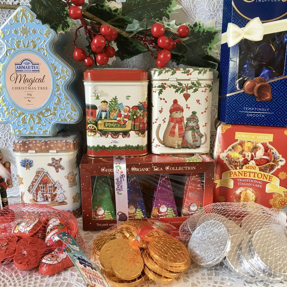 подарки, английский чай
