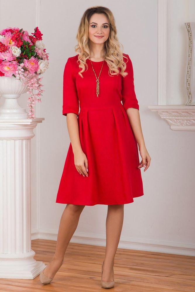 одежда в русском стиле, льняное платье