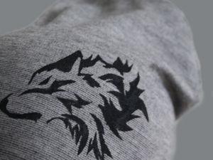 Делаем принт на ткани с помощью трафарета. Ярмарка Мастеров - ручная работа, handmade.