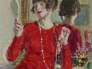 Прекрасные портреты женщин с бусами: 75 очаровательных картин. Ярмарка Мастеров - ручная работа, handmade.