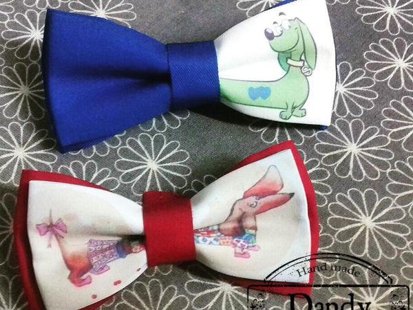 Бабочки с принтами от Bowtie-dandy | Ярмарка Мастеров - ручная работа, handmade