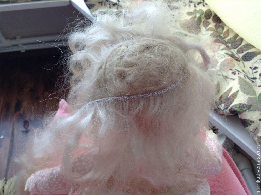 тресс козы, волосы кукле