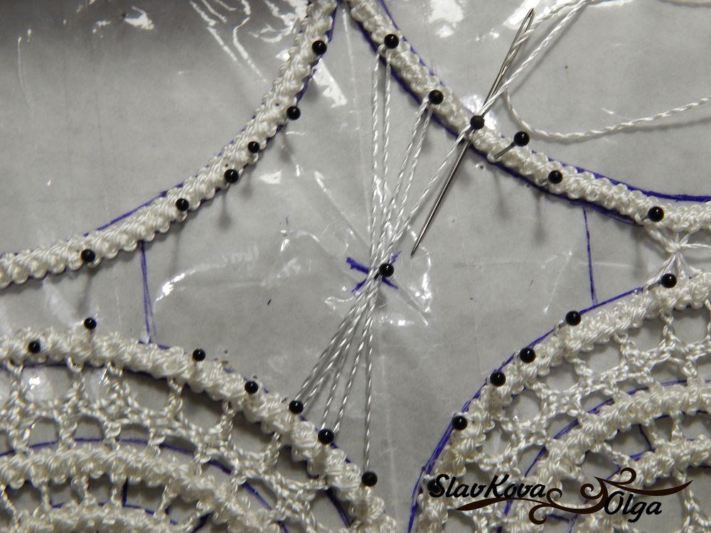 плетение иглой