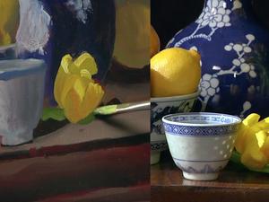 Пишем натюрморт с цветами маслом. Claudia Seymour (язык английский). Ярмарка Мастеров - ручная работа, handmade.