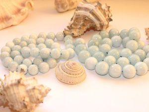 Аквамарин - удивительной нежности минерал   Ярмарка Мастеров - ручная работа, handmade
