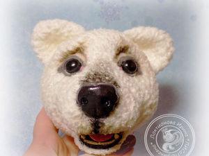 Лепим носик мишке или собачке из полимерной глины. Ярмарка Мастеров - ручная работа, handmade.