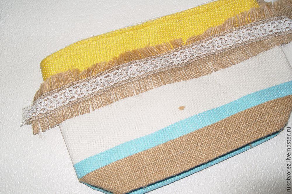 Переделываем летнюю косметичку в яркую сумочку, фото № 7