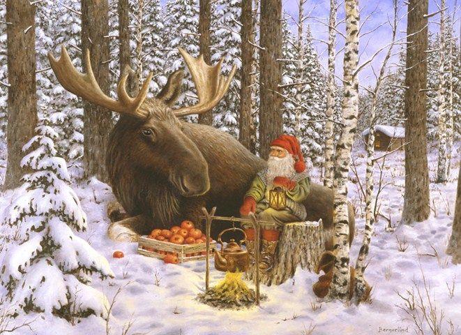 виртуальный календарь, норвегия, рождество в норвегии