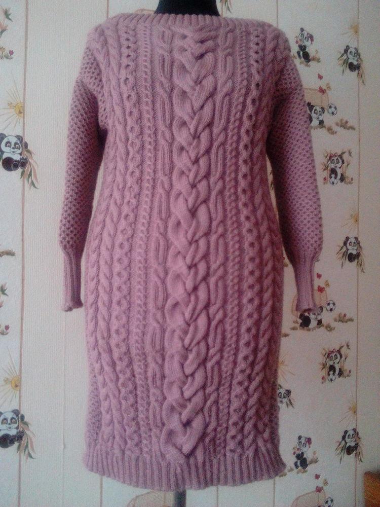 шерсть 100%, туника, пуловер