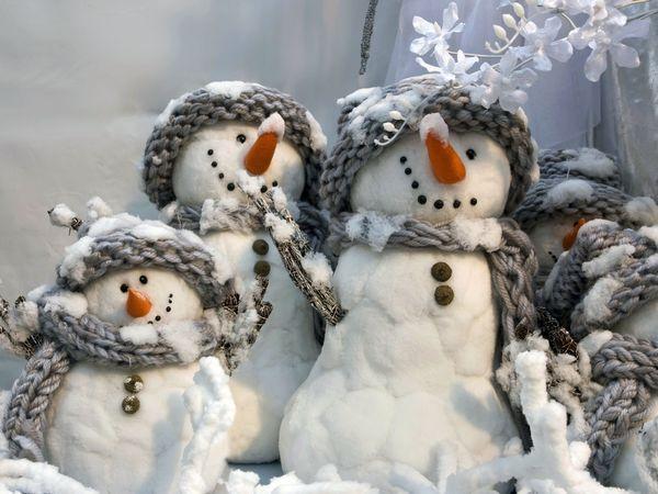 История про Снеговика, и не только.....   Ярмарка Мастеров - ручная работа, handmade