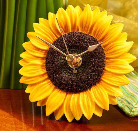 Sunflower Decor   Sunflower Clocks - Buy Sunflower Decor Online